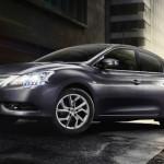 Рестайлинговый Nissan Sentra