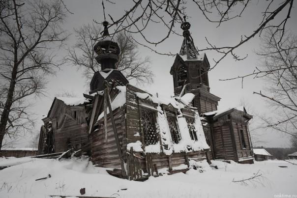 Андреевская церковь 1910 года постройки. Андреевцы Селтинского района Удмуртии