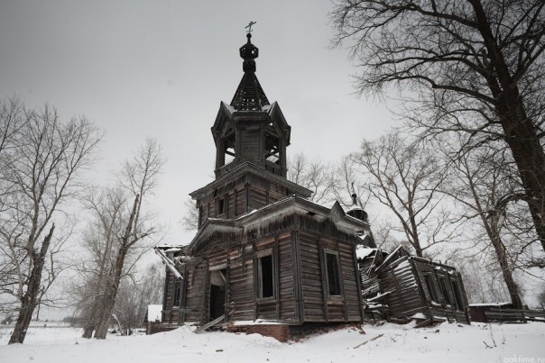 Андреевская церковь 1910 года постройки. Село Андреевцы Селтинского района Удмуртии