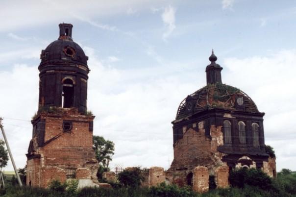 Кигбаево храм в разрухе