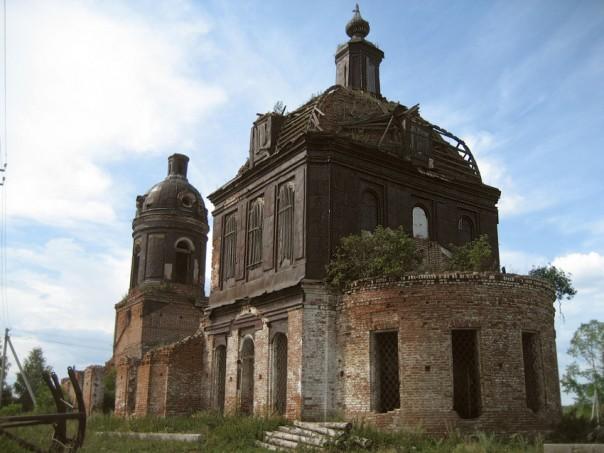 Кигбаево разрушенный храм