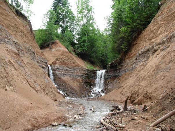 Копань водопады и ручей