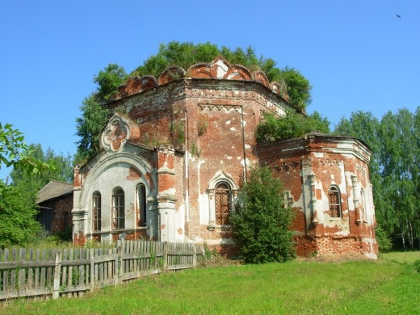 Покровская церковь с. Большой Селег Красногорского района