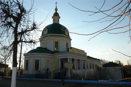 Покровская церковь в Сарапуле. отреставрированая
