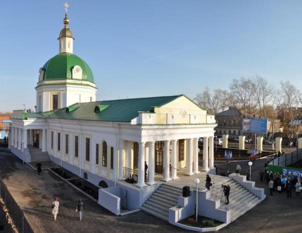 Покровская церковь в Сарапуле. современный вид