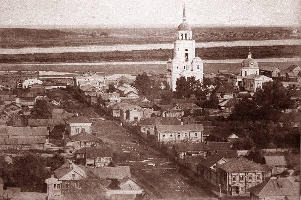 Покровская церковь в Сарапуле. старые вид