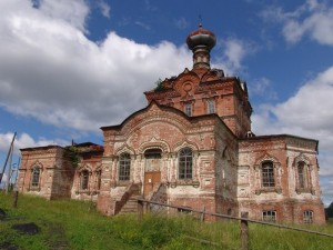 Церковь Иоанна Предтечи в Сюрсовае. Шарканский район, Удмуртская Республика.