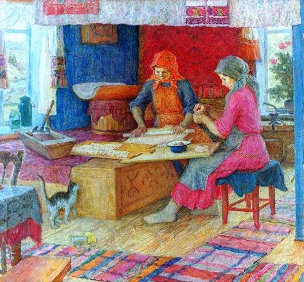 Виноградов Семен Николаевич Пельнянь. 1979, холст, масло