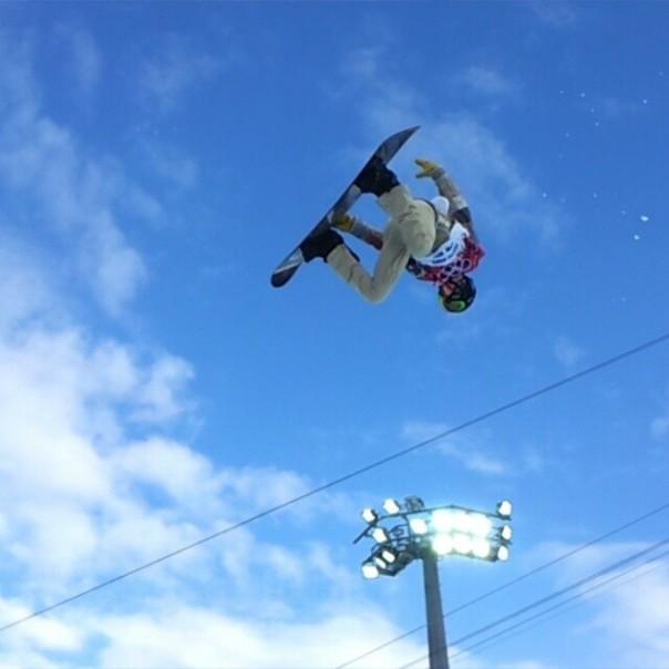 Выступление Шона Уайта на олимпиаде в Сочи