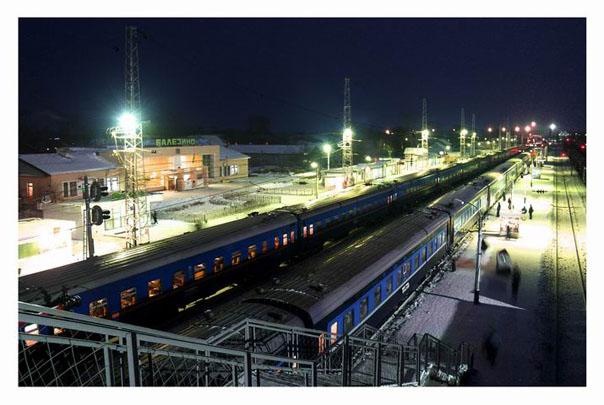 балезино поезда