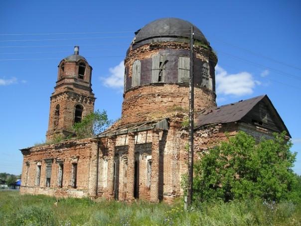 д. Выезд Сарапульский район Церковь Покрова Пресвятой Богородицы