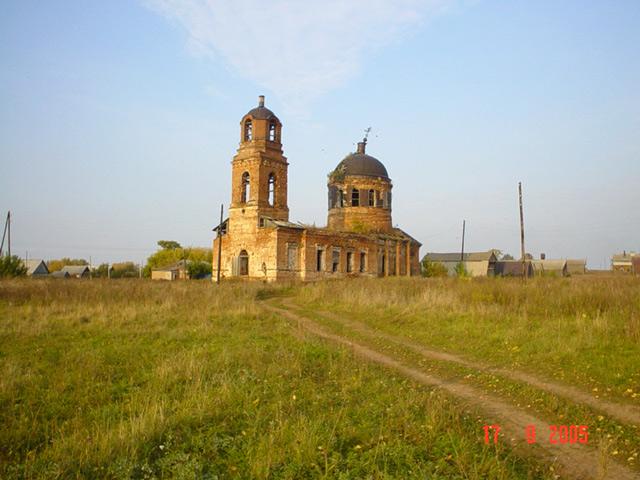 д. Выезд Сарапульский район. Церковь Покрова Пресвятой Богородицы