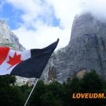 Флаг Удмуртии на Кавказе
