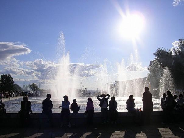 фонтаны центральная площадь
