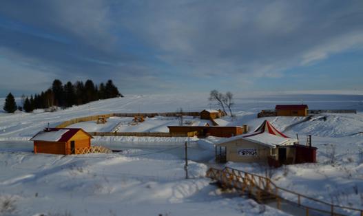 годекшурские горки зимой