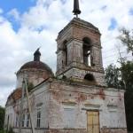 Церковь Рождества Христова в селе Мещеряково Граховского района