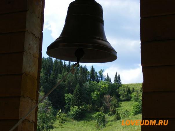 храм в Паздерах вид с колокольни