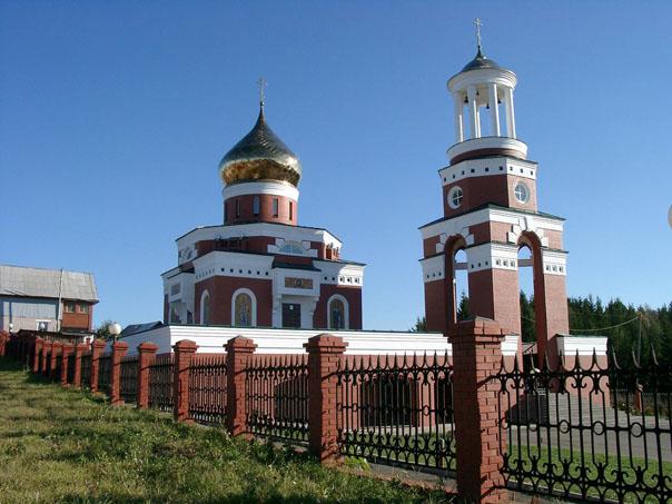 храм в Якшур-Бодье