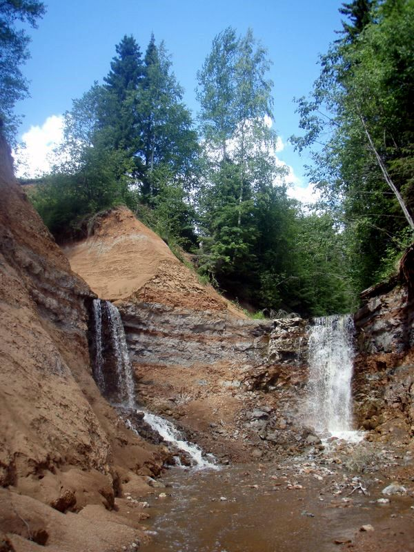 Копань водопады