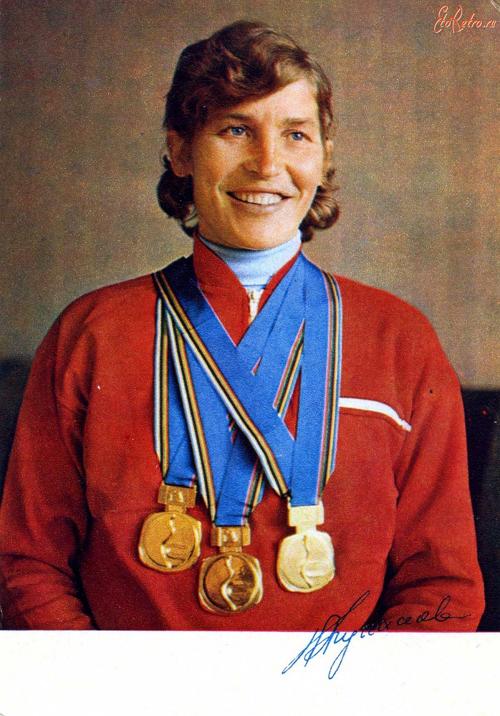 кулакова галина советская лыжница