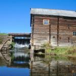 Турынгурт старинная водяная мельница