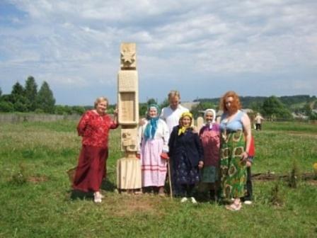 памятник лаптю