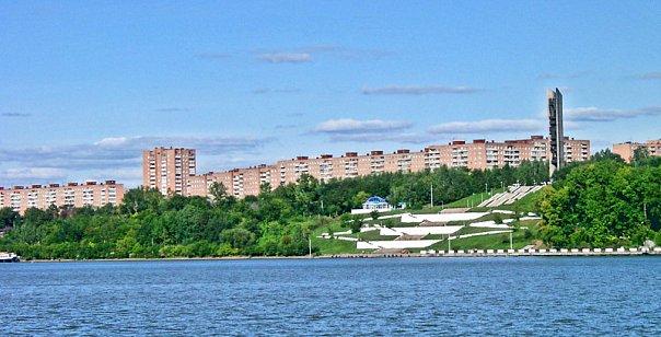 панорама с пруда