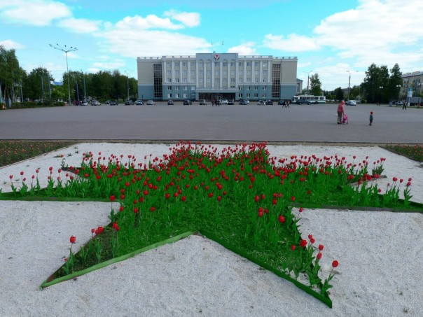 площадь у дома правительства
