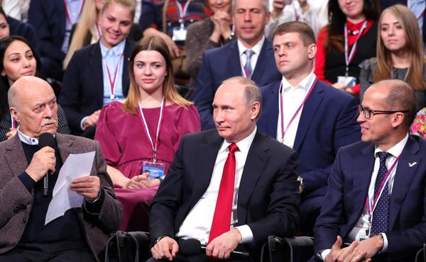 путин с Бречаловым