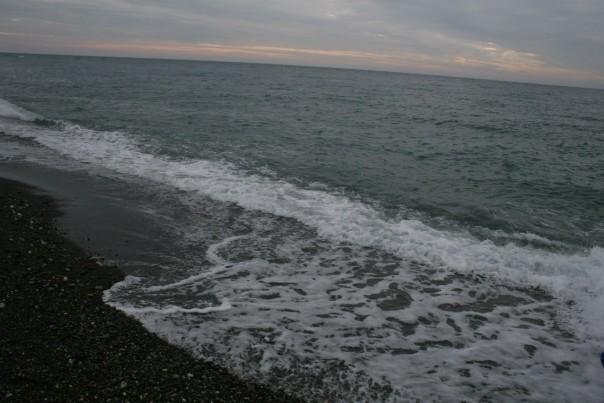 Сочи, Черное море в январе