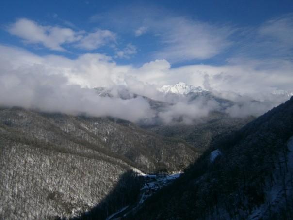 Сочи, горы
