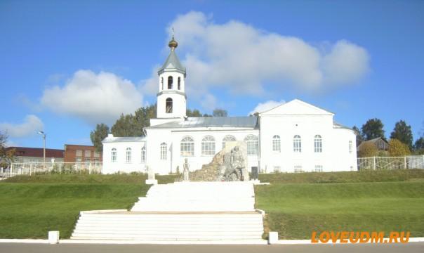 сюмси храм и памятник лого