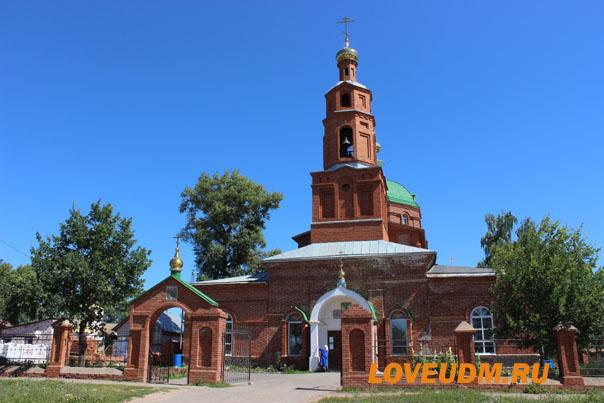 церковь алнаши