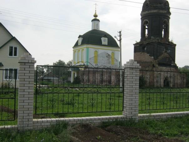 восстановление храма в Кигбаево