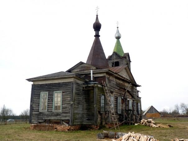 восстановление в Большой Чепце храма