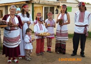 встреча гостей в Живице для мини