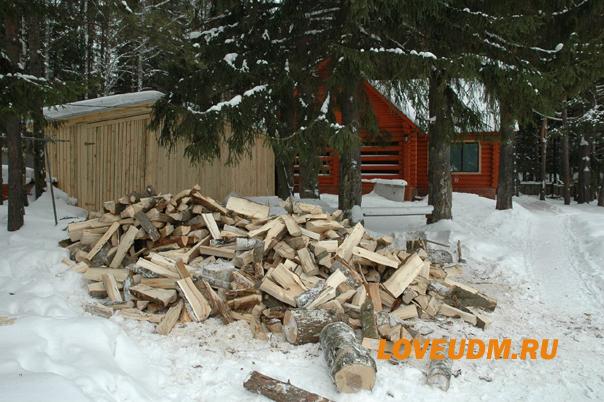 жем зимой дрова копия